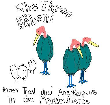besuchen die Marabus